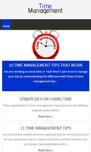Managing Your Time - Dartmouth College