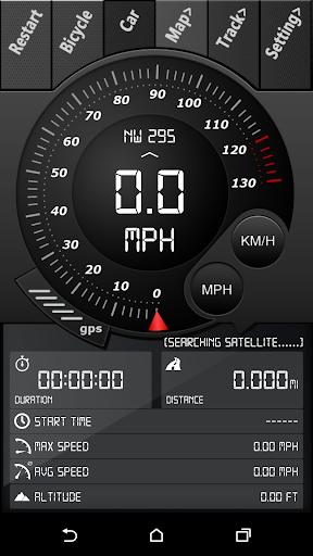 GPS速度計