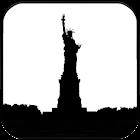 Statue of Liberty Silhouette icon
