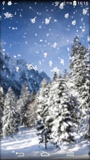 降雪量 動態壁紙