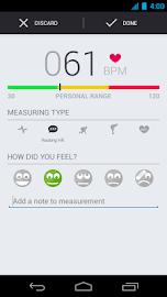 Runtastic Heart Rate Monitor Screenshot 3