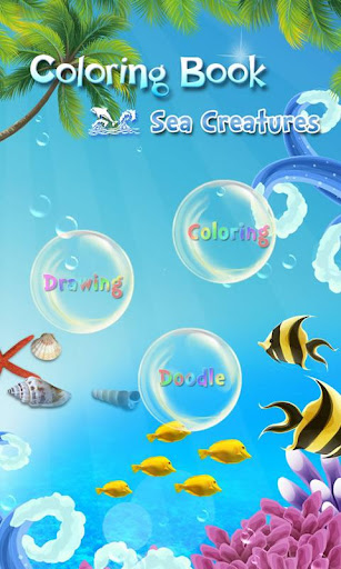 Coloring Book Sealife for Kids