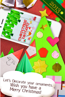Christmas Origami- screenshot thumbnail