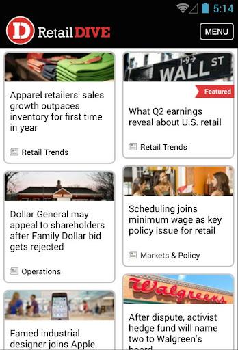 Retail Dive: News Jobs