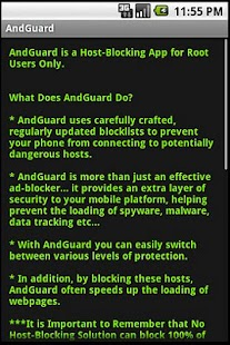 AndGuard for Root - screenshot thumbnail