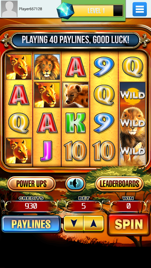 Lion Run | Slots Free- screenshot