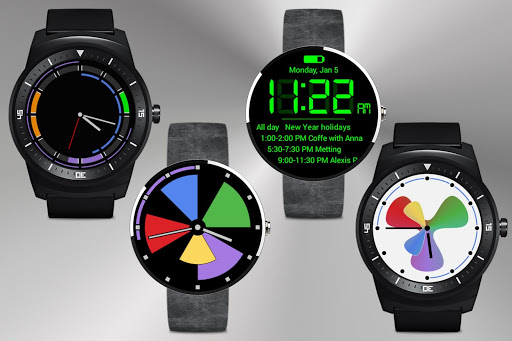 Calendar Wear Watch Face Pack