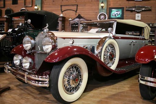 Ft-Lauderdale-Antique-Car-Museum - A 1931 Packard at the Fort Lauderdale Antique Car Museum.