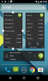 n'4get Reminder - screenshot thumbnail