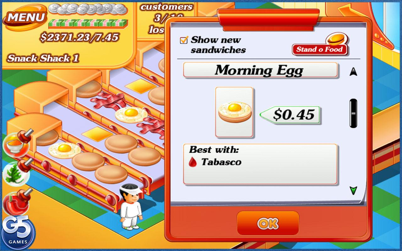 Stand O' Food® (Full) - screenshot