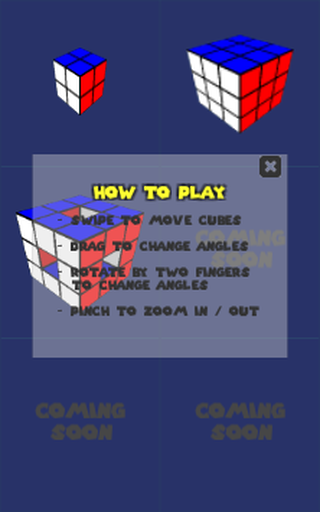 Simple Cube Puzzle