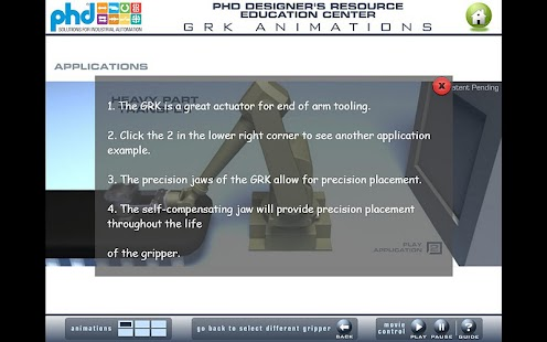 PHD Education Center - screenshot thumbnail