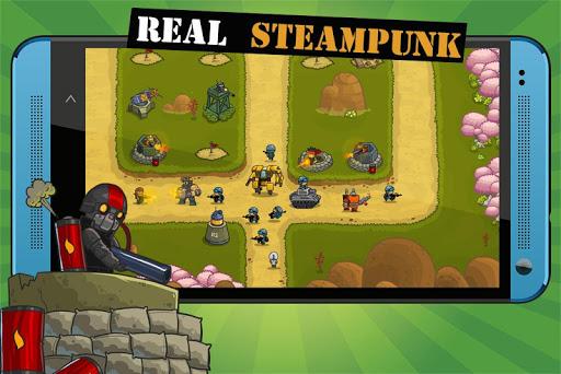 Steampunk Defense Premium