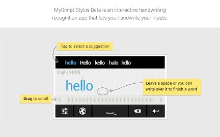 MyScript Stylus (Beta) Screenshot 1