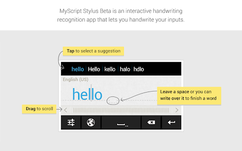 MyScript Stylus (Beta) Screenshot 3