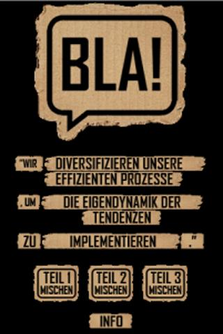 BLA! -Der Phrasendrescher - screenshot