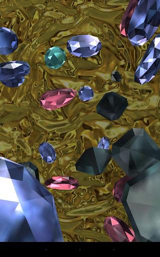 Falling diamonds 3D