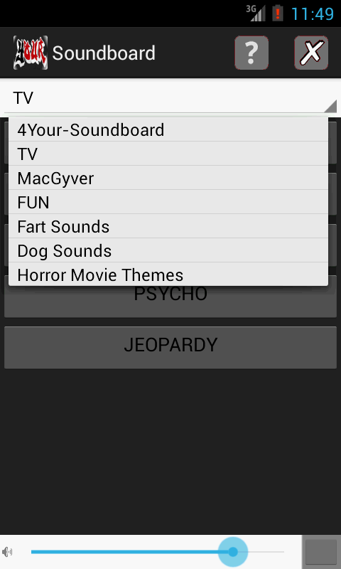 Your Soundboard (Ad-Supported)- screenshot