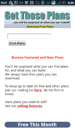 Find Sell Give Away Plans