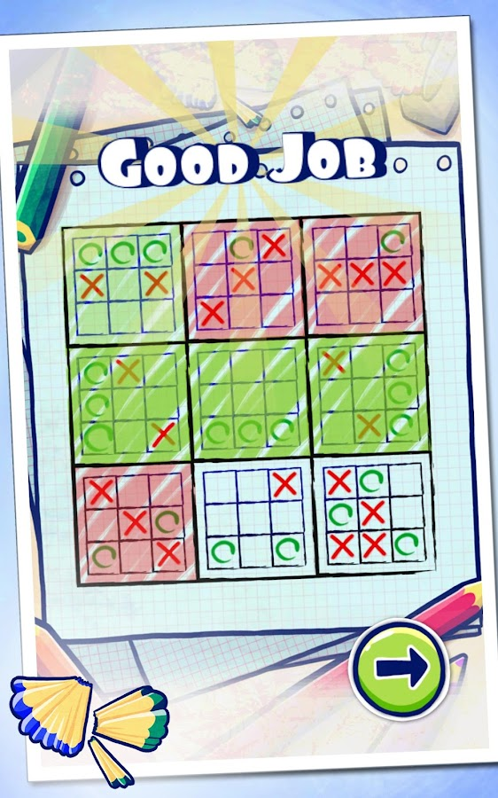 Ultimate Tic Tac Toe- screenshot