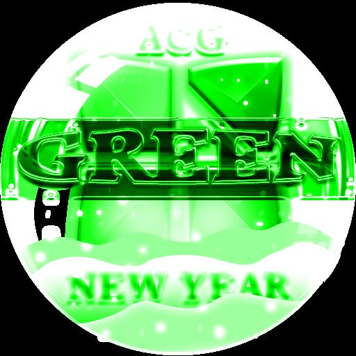 NEXT LAUNCHER 3D GreenNY THEME