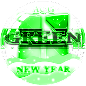 NEXT LAUNCHER 3D GreenNY THEME