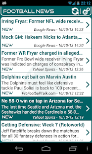Miami Football News- screenshot thumbnail