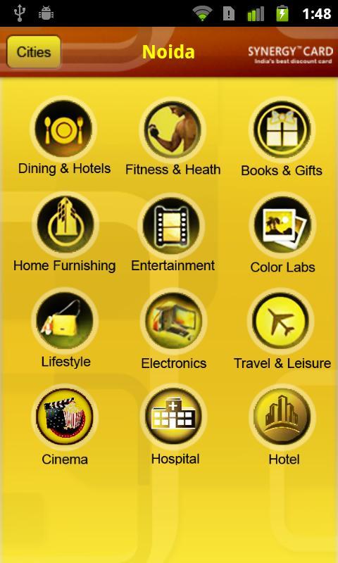 SynergyCard- screenshot