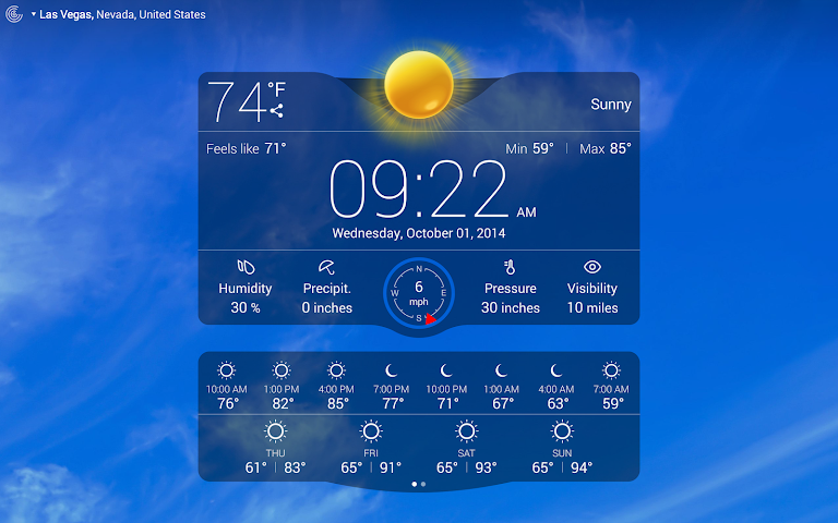 Weather Live 3.2 APK
