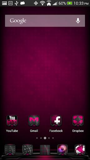 Vox Pink Theme Apex Nova ADW