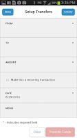 Screenshot of American Bank Mobile Banking