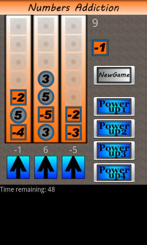 Numbers Addiction- screenshot