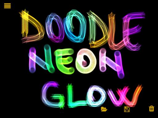 Doodle Neon Glow
