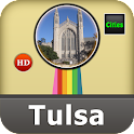 Tulsa Offline Map Travel Guide icon