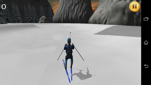 Futuristic Biathlon Simulator