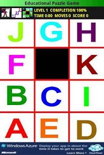 Educational Puzzle Game Free- screenshot thumbnail