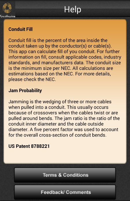 Southwire Conduit Fill Calc Android Apps on Google Play – Conduit Fill Chart