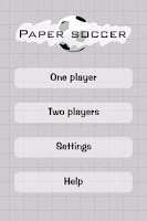 Screenshot of Paper Soccer