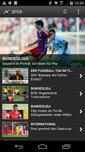 SPOX Sportnews- screenshot thumbnail