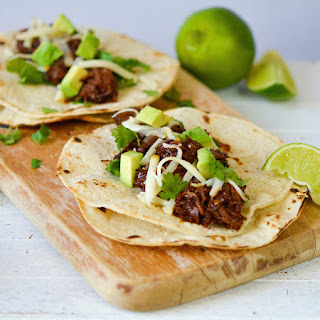 Mexican Pulled Beef Tacos.