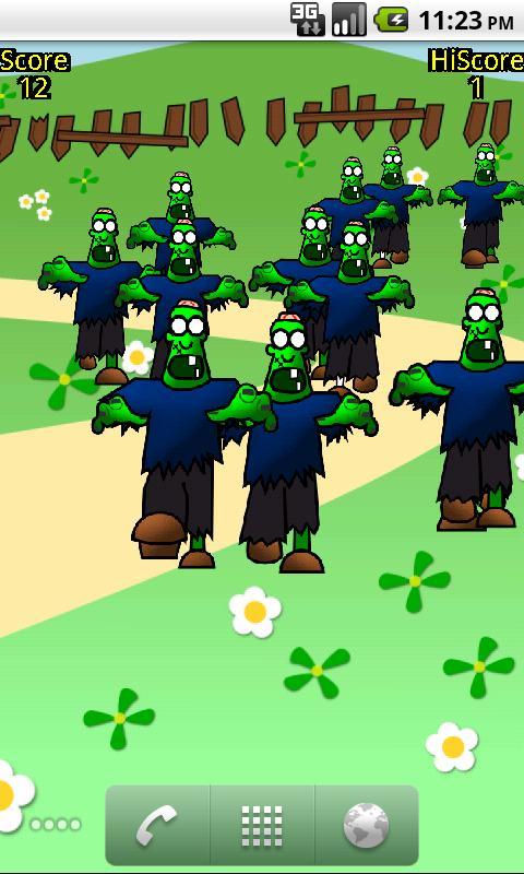 Zombie Pop LW Free- screenshot