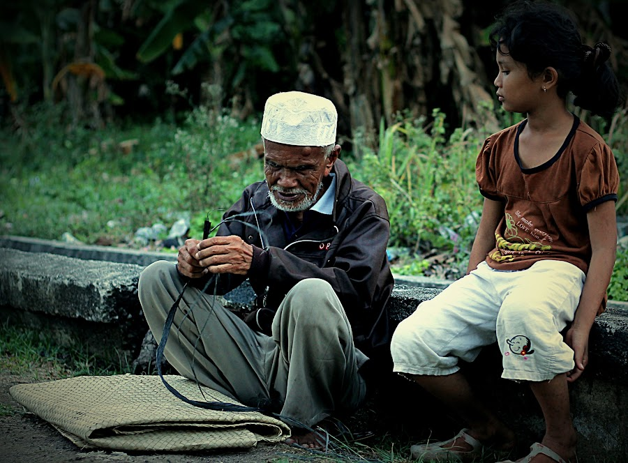 Spirit of the human life at the edge of the time by Pani Indra - People Portraits of Men