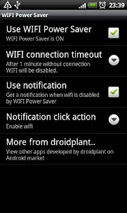 WIFI Power Saver - screenshot thumbnail