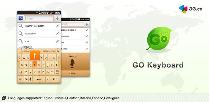 GO Keyboard не плохая альтернативная клавиатура с русским и украинским языками для Kindle Fire