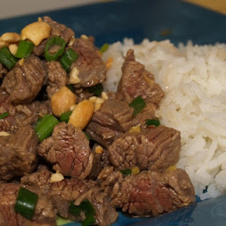 Kung Pao Beef.