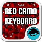 Red Camo Keyboard