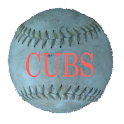 Simple Chicago Cubs Schedule logo