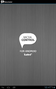 Micra Control - screenshot thumbnail