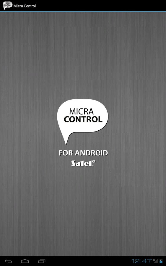 Micra Control - screenshot