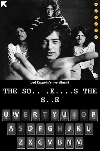 【免費音樂App】Hangman Led Zeppelin Trivia-APP點子